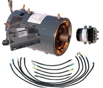 Golf cart electric motor packages for Golf cart motors electric